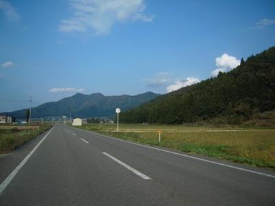 大月から望む坂戸山