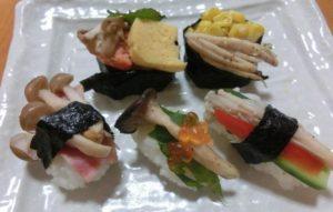 06-栄養満点きのこづくし寿司