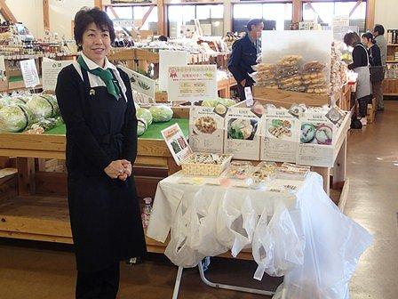昨年同様に試食提供には野菜ソムリエの方にお手伝いいただきました。