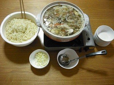 つけ麺&きのこ汁